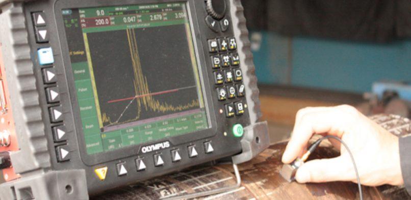 تست ذرات مغناطیسی جوشکاری جوشکاری و انواع روش های تست جوش در هات تپ UT 2 806x393