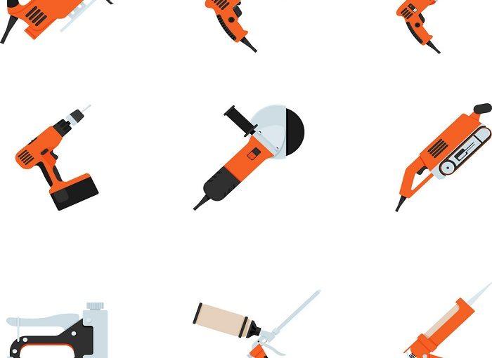 ابزارآلات ابزارآلات و شرایط نگهداری از آنها در کارگاه هات تپ set of building electrotools for repair vector 17720144 700x510