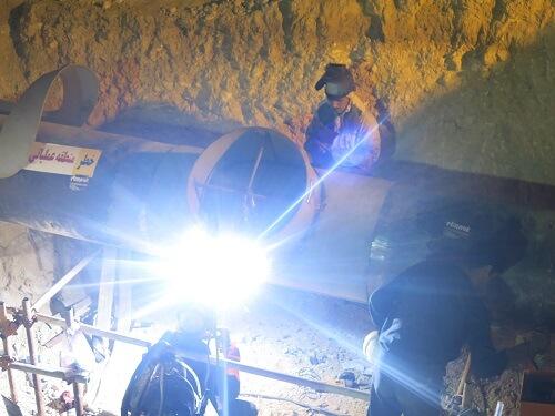 جوشکاری اسپلیت تی با دستگاه جوش لینکلن (Lincoln) اسپلیت تی جوشکاری اسپلیت تی با دستگاه جوش لینکلن (Lincoln) splittee welding